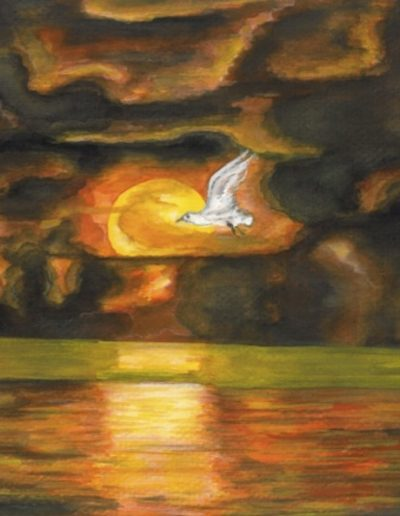 jennati-art-sunsetlake